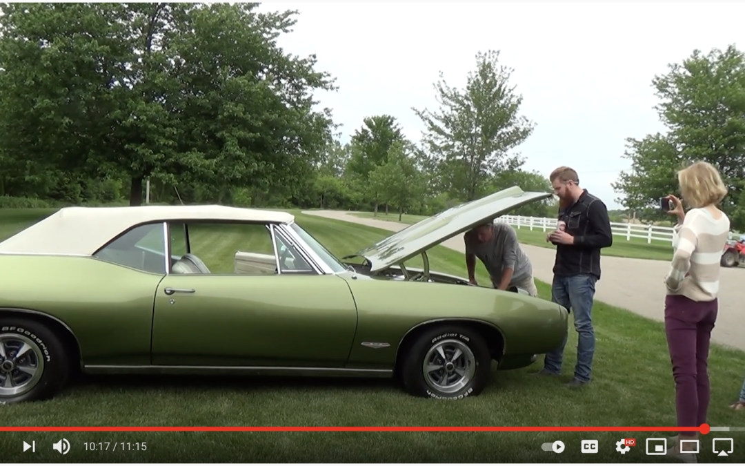 A muscle car Cinderella story – Son surprises Dad with the 1968 GTO that he restored 29 years ago.